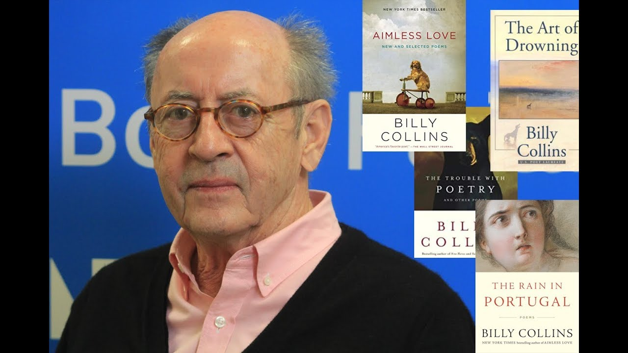 A Discussion With Billy Collins 2x Us Poet Laureate
