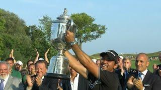 Jason Day wins the 97th PGA Championship in record fashion