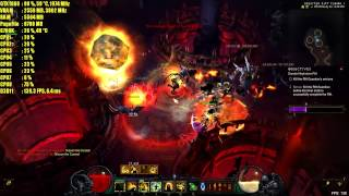 DIABLO 3 | GRAPHICS QUALITY + FRAMERATE TEST GTX 1060 DX11 2017 - MAX SETTINGS 1080p