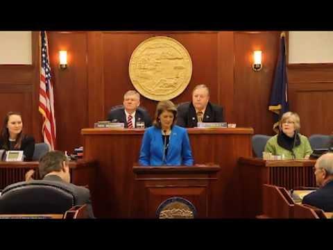 Senator Murkowski Address to the Alaska State Legislature 2013: Part 1