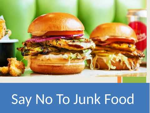 Say No To Junk Food - YouTube