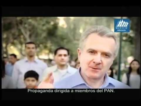 Elecciones México 2012: Precampaña PAN Spot Santiago Creel - México adelante o atrás