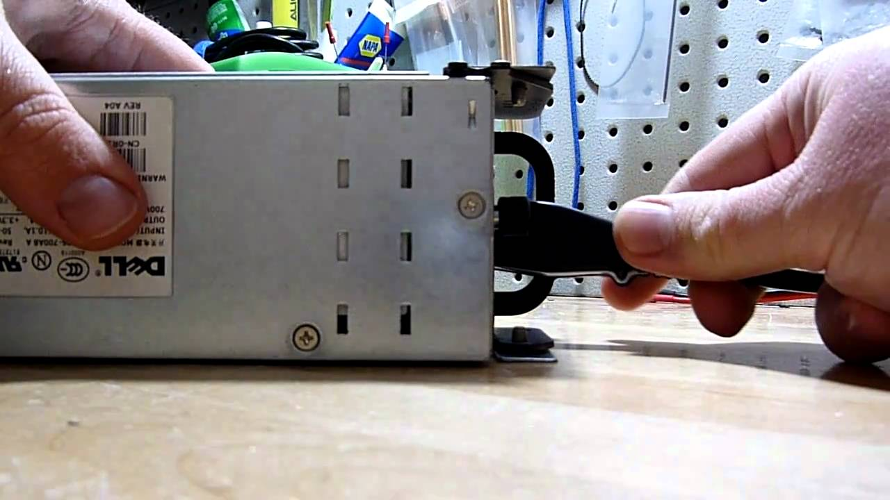 HP and Dell server power supply noise