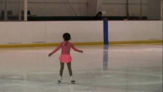 Sophia Maltez - First Ice Skating Competition