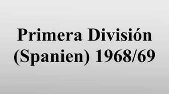 Primera División (Spanien) 1968/69