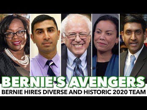 Bernie Assembles Diverse And Historic 2020 Campaign Team
