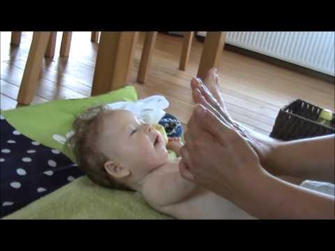 babymassage, de kleine prins