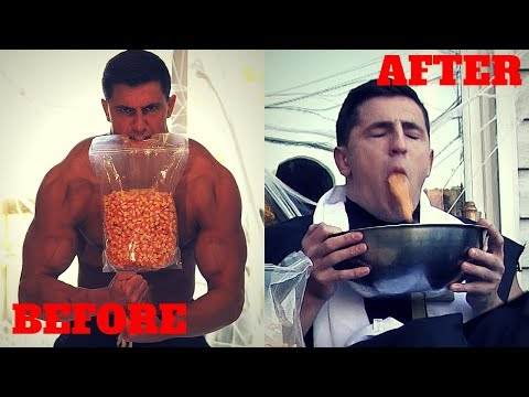 Eating 5 POUNDS of Candy Corn *8500+ Calories* | Bodybuilder VS Crazy Halloween Food Challenge Fail