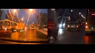 видео Видеорегистратор cansonic cdv-7070