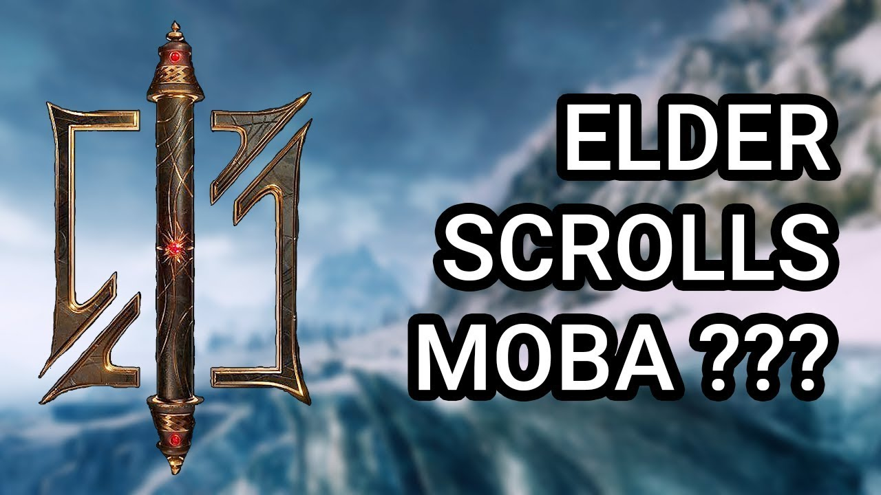 The Elder Scrolls MOBA? Zenimax New Trademark & Logo - Самые лучшие