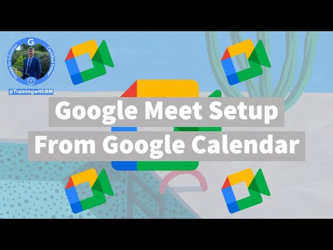 How to Set Up a Meeting with Google Meet from YouTube · Duration:  3 minutes 2 seconds