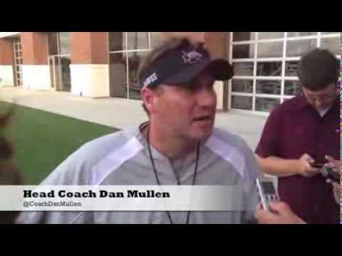 Dan Mullen, Tyler Russell, Dillon Day Interviews - 8.22.13