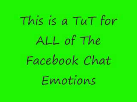 ALL Facebook Chat Emotions!