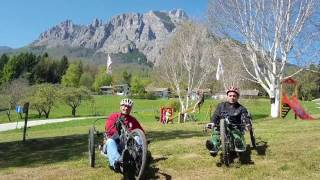 60 km della Vigolana con l'handbike - cross country handcycle