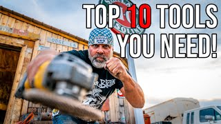 You WONT Survive Without These Tools! (TOP 10 of 2019)