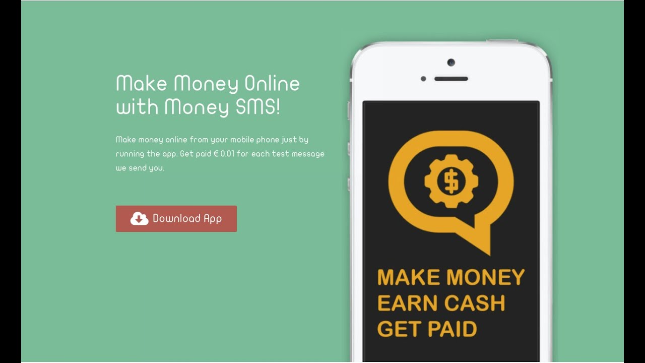 How To Make Money Online With Money Sms