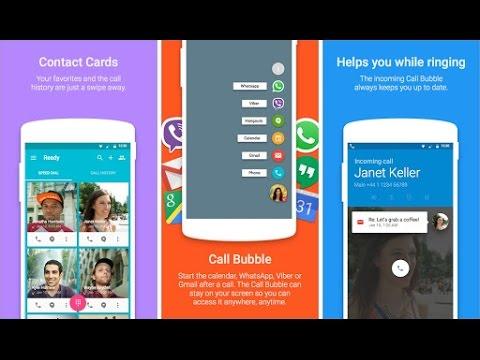 Ready Contact List - стильная и современная звонилка для #android