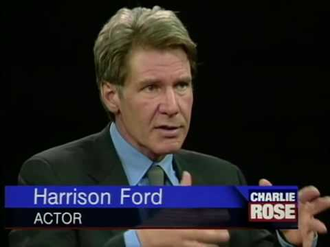 Harrison Ford interview with Charlie Rose on Sabrina (1996)