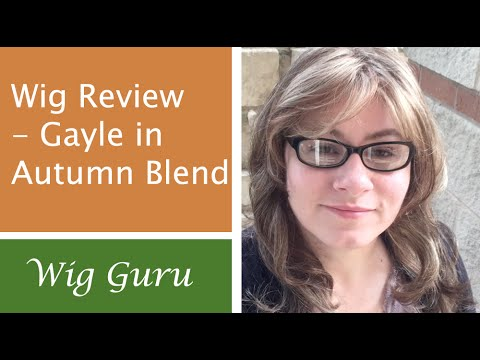 Wig Review Gayle By Paula Young In Autumn Blend Youtube