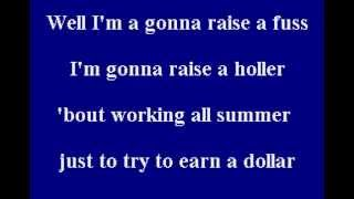 Alan Jackson - Summertime Blues - Karaoke