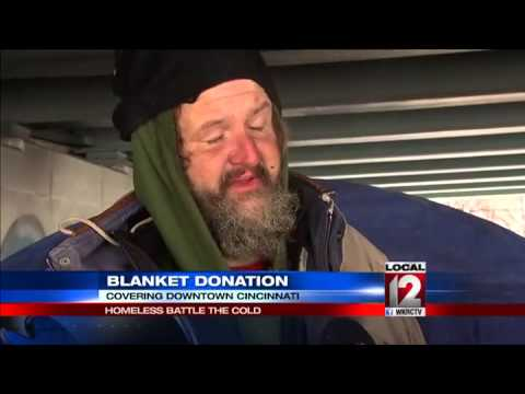 How the homeless battle the cold