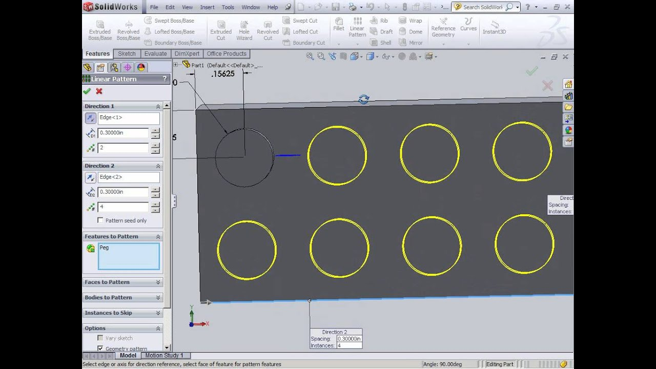 Creating a 2 x 4 lego with solidworks youtube for 2 by 4 design