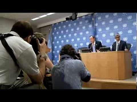 Ban Ki Moon Press conference 01 10 2014