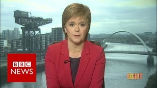 What if UK PM refused to allow another Scottish referendum? BBC News thumbnail