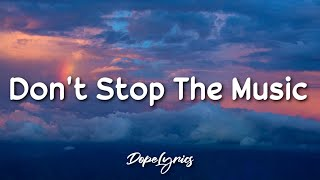 Don't Stop The Music - Rihanna (Lyrics) 🎵