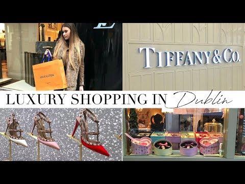 Buying My First Designer Bag! | Shopping In Dublin Vlog