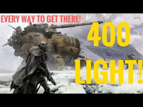 400 NEW MAX LIGHT! EVERY WAY TO GET THERE! HYPE! Destiny Rise of Iron
