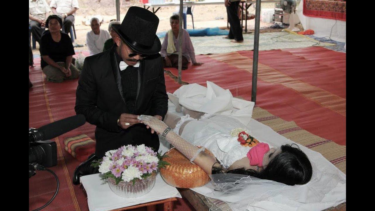 Мертвый жених и невеста во сне