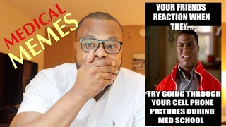 Doctor Reacts to: FUNNIEST MEDICAL MEMES!