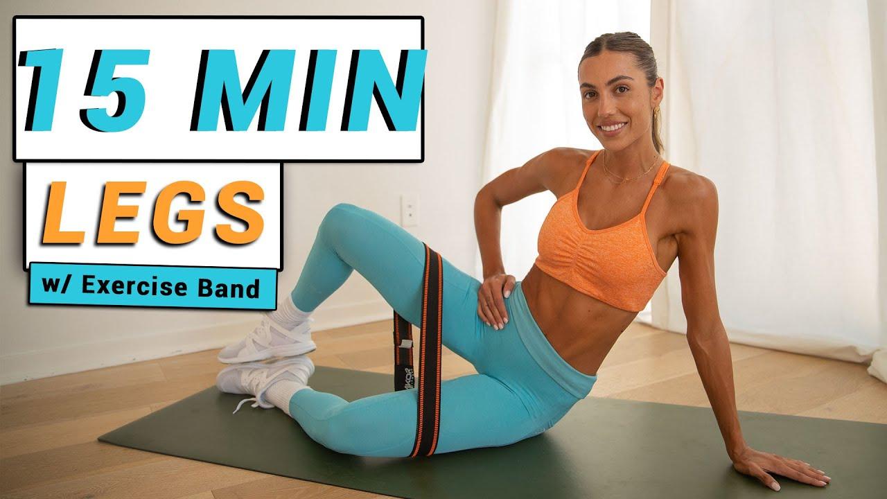 15 MIN Get Fit Leg Workout // Legs - Booty & Calves // Sami Clarke