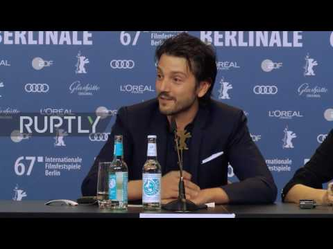 Germany: Berlinale judge Diego Luna in Berlin to
