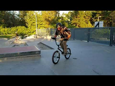 Bmx barspins progress
