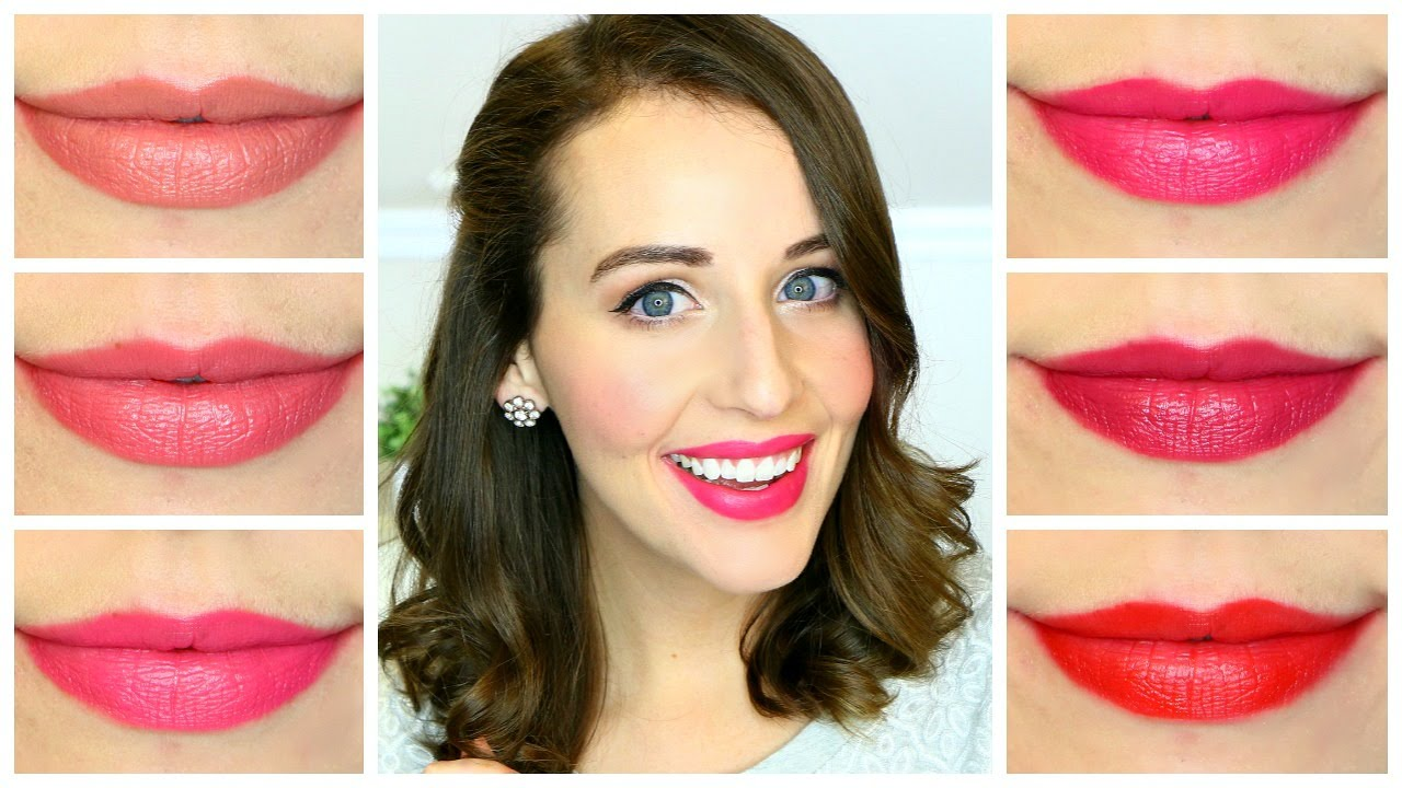 Revlon Ultra HD Matte Lip Color SWATCHES + REVIEW - YouTube