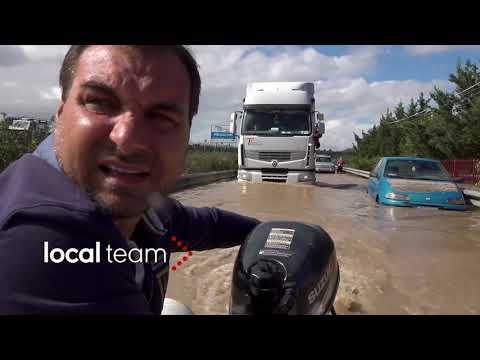 Maltempo, alluvione tra provincia Siracusa e Catania