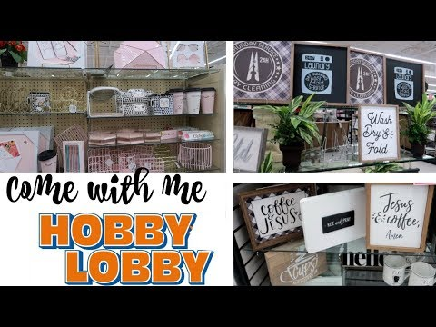 HOBBY LOBBY * COME WITH ME/ HOME DECOR ** PART 1