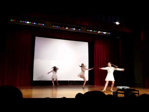 Mama Who Bore Me dance at Clague Middle School Talent Show
