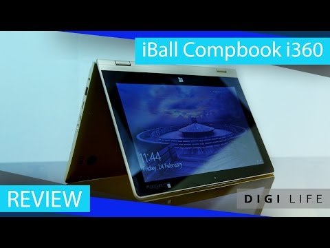 iBall CompBook i360 Laptop Review | Digi Life