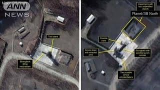 北朝鮮が模擬ミサイル実験か 米「38ノース」発表(20/04/09)