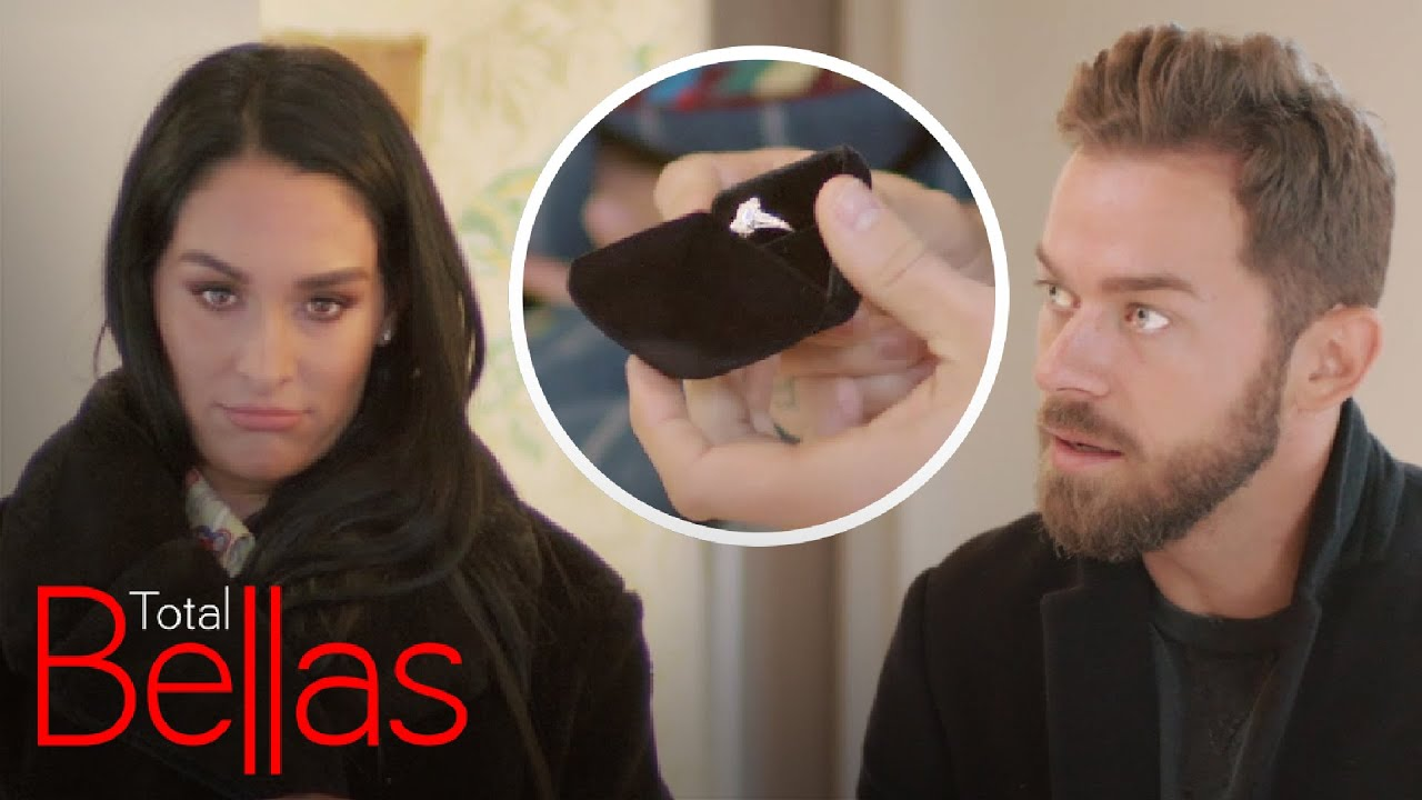 Nikki Bella Almost Spoils Her Own Surprise Proposal! | Total Bellas