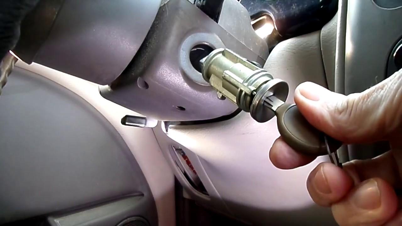 Chrysler Pt Cruiser Ignition Lock Cylinder Removal