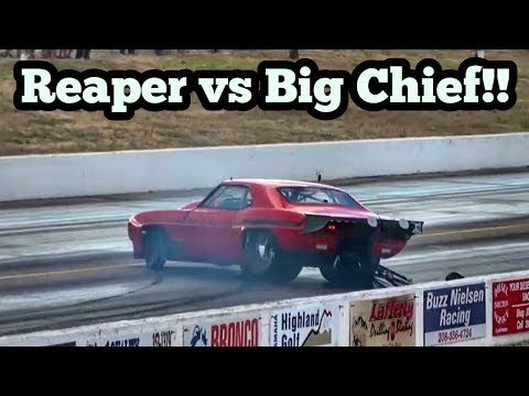 Street Outlaws Reaper vs Big Chief at Idaho No Prep Kings