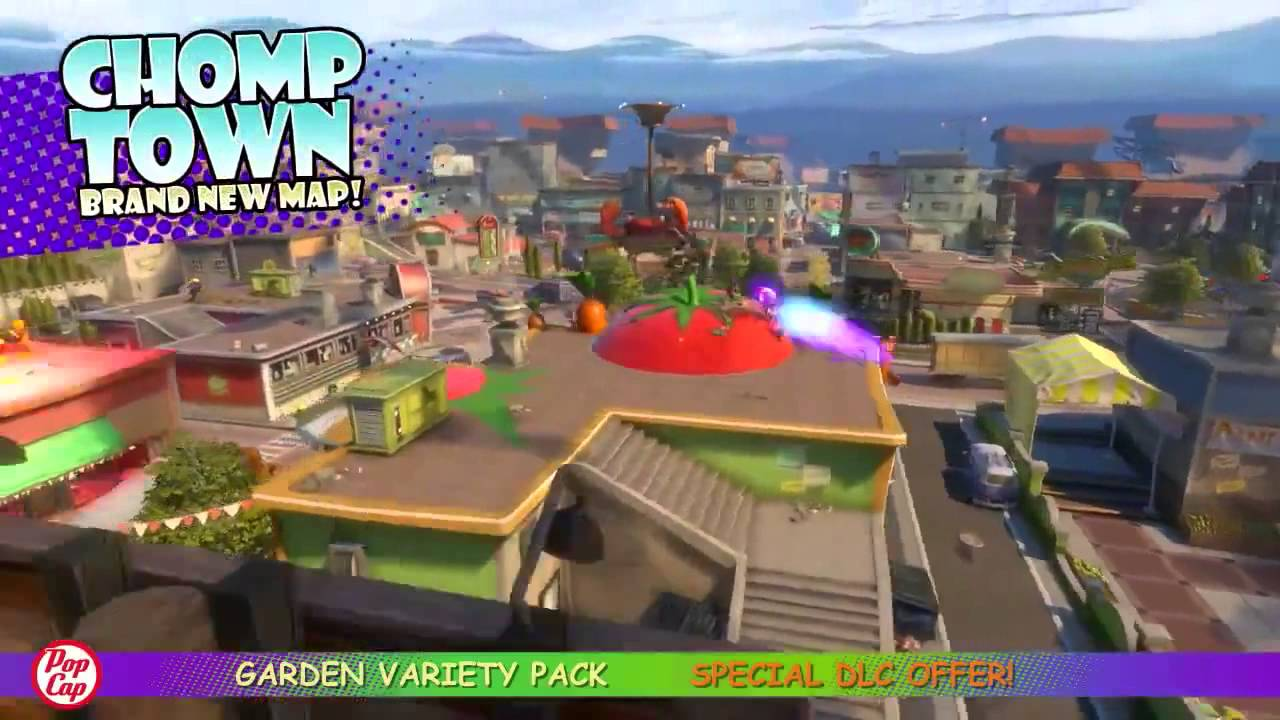 Game review Plants VS Zombies Garden Warfare Garden Variety Pack ...
