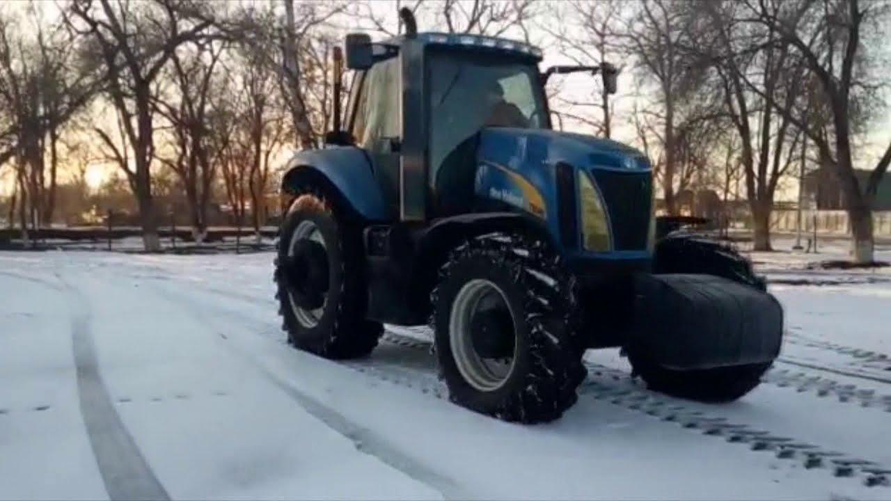 Тестируем трактор NEW HOLLAND Т8040, 2006 года выпуска - сойдет для покупки?