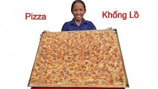 Bà Tân Vlog - Làm Bánh Pizza Siêu To Khổng Lồ Ăn Mừng 2,6 Triệu Sub