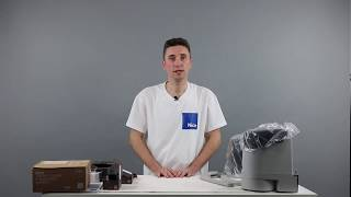Video: Automatizare porti batante de 2x2.4 m Nice HOPPKIT