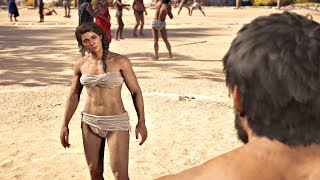 Assassin's Creed Odyssey - Kassandra Pankration Olympics ALL BOSSES
